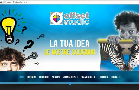 """<strong>Cliente</strong> Offset Studio  <strong>Tipologia</strong> Sito """"one page"""", CMS in Wordpress  <strong>Tecniche utilizzate</strong> Wordpress, PHP, MySQL, Javascript"""